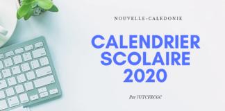 calendrier nc caledonie 2020 ecole vacances